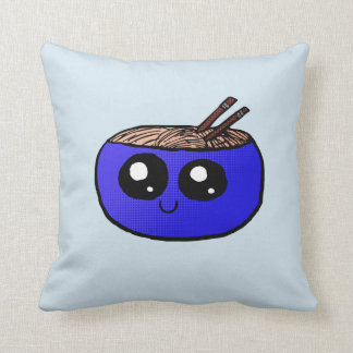 Almofada Bacia de Chibi de travesseiro dos macarronetes