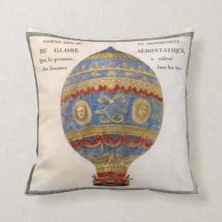 Almofada Balão de ar quente dos irmãos de Montgolfier