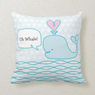 Almofada Baleia bonito