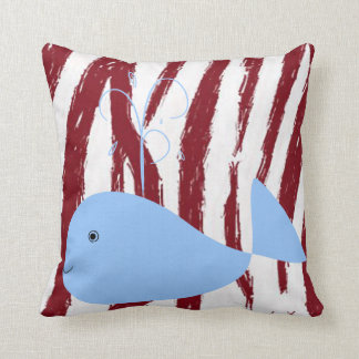 Almofada Baleia do travesseiro decorativo