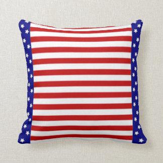 Almofada Bandeira americana da bandeira dos Estados Unidos