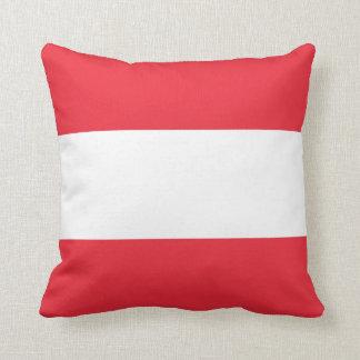 Almofada Bandeira austríaca patriótica