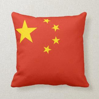 Almofada Bandeira chinesa patriótica
