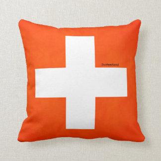 Almofada Bandeira da suiça para o Lance-Coxim