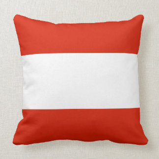 Almofada Bandeira de Áustria
