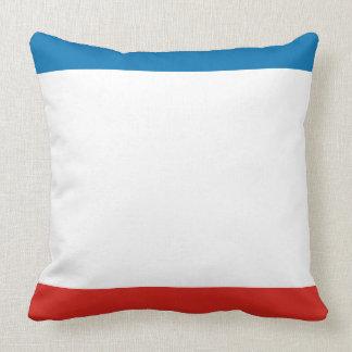 Almofada Bandeira de Crimeia