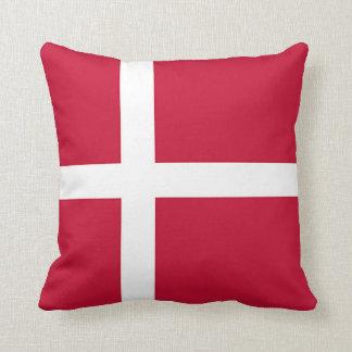 Almofada Bandeira de Dinamarca - cruz escandinava