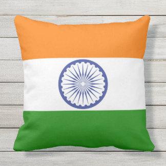 Almofada Bandeira de India Ashoka Chakra