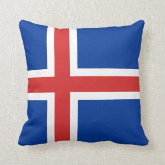 Almofada Bandeira de Islândia