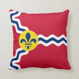 Almofada Bandeira de St Louis, Missouri