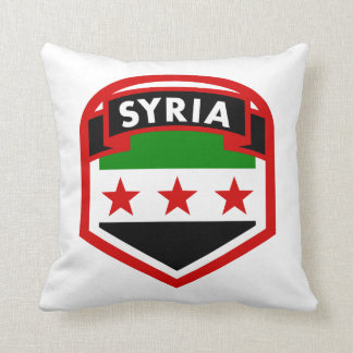 Almofada Bandeira de Syria