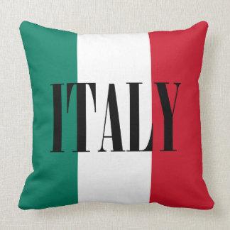 Almofada Bandeira do italiano de Italia Italia