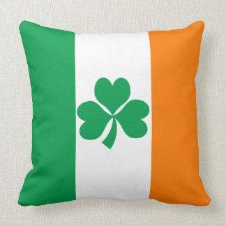 Almofada Bandeira do trevo de Ireland