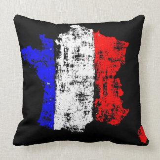 Almofada Bandeira do vintage de France - travesseiro