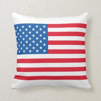 Almofada Bandeira dos Estados Unidos da bandeira dos EUA