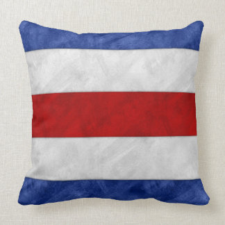Almofada Bandeira marítima do sinal náutico da aguarela de