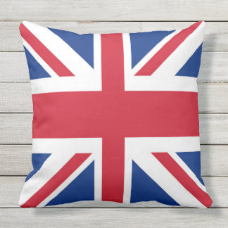 Almofada Bandeira real BRITÂNICA de Grâ Bretanha Union Jack