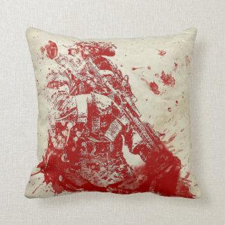 Almofada Banho de sangue