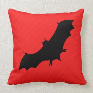 Almofada Bastão do Dia das Bruxas no vermelho