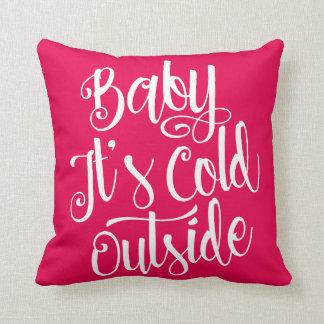 Almofada Bebê é cor feita sob encomenda exterior fria