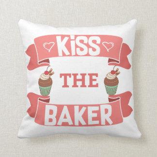 Almofada Beije o travesseiro decorativo do padeiro