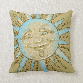 Almofada Beijo do travesseiro decorativo de sorriso de Sun