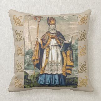 Almofada Bishop do cobra do trevo do dia de St Patrick