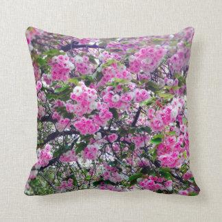 Almofada Blossum cor-de-rosa 16 x descanso de lance 16