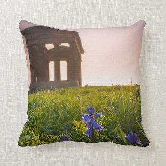 Almofada Bluebells no travesseiro/coxim do monumento de