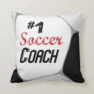 Almofada Bola do treinador do futebol #1 grande