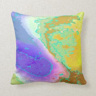 Almofada Bolha acima de no. 1 do travesseiro das aguarelas