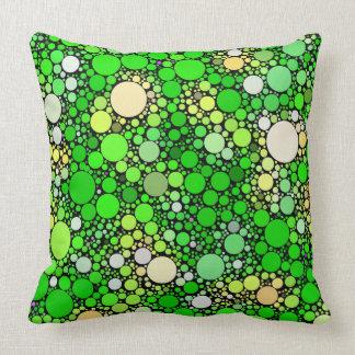 Almofada Bolhas de Zazzy, verdes