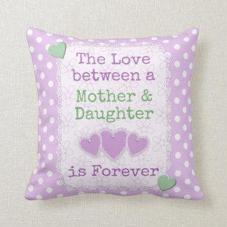 Almofada Bolinhas do lilac da filha da mamã