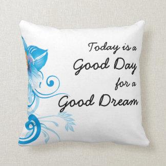 Almofada Bom travesseiro dos sonhos