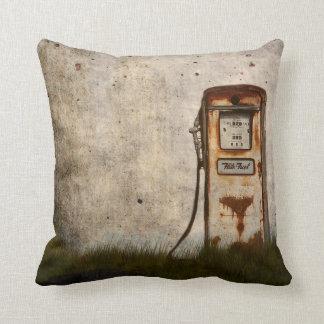 Almofada Bomba de gás antiga velha oxidada
