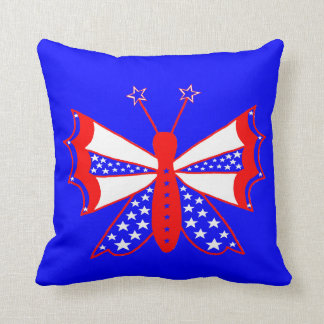 Almofada Borboleta patriótica