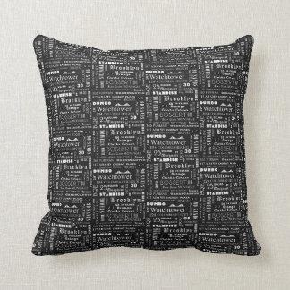 Almofada Brooklyn Heights recordou o travesseiro