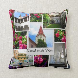 Almofada Bruck uma coleção do viagem da MUR Áustria do der