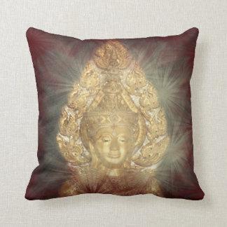 Almofada buddha, asiático, jovem, assento, presente,