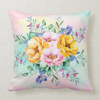 Almofada Buquê colorido das flores
