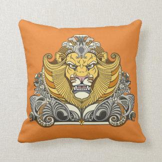 Almofada cabeça do leão