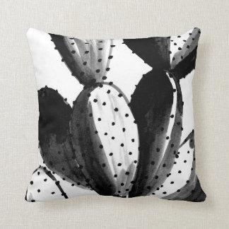 Almofada Cacto preto e branco