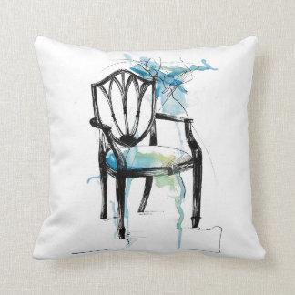 Almofada Cadeira de Hepplewhite - travesseiro decorativo da