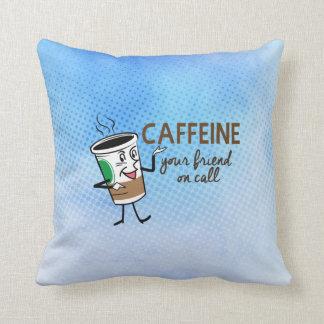 Almofada Cafeína, seu amigo na chamada