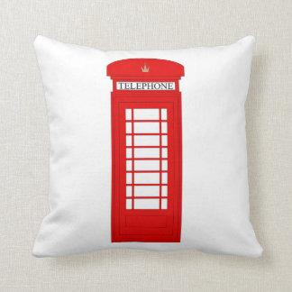 Almofada Caixa de telefone/coxim britânicos de Union Jack