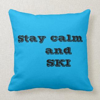Almofada Calma da estada e travesseiro decorativo das