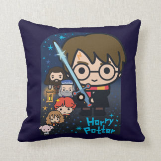Almofada Câmara de Harry Potter dos desenhos animados dos
