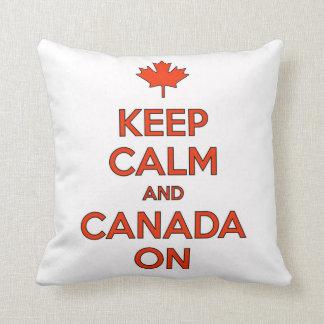 Almofada Canadá sobre & mantem o travesseiro dos moluscos
