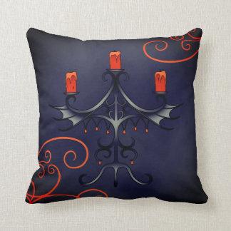 Almofada Candelabros elegantes do Dia das Bruxas