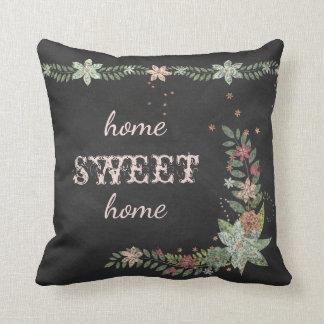 Almofada Canto floral do quadro & travesseiro da beira